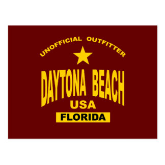 Daytona Beach Card Postcard