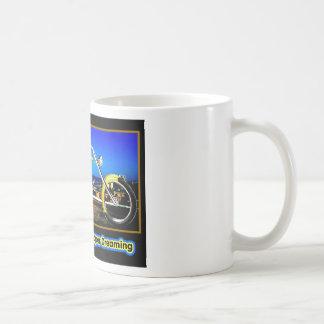 Daytona Beach Chopper Dreaming Yellow Gold Black T Coffee Mugs