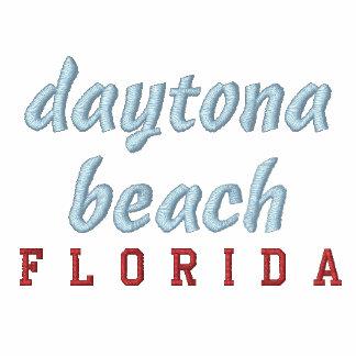 Daytona Beach Embroidered Track Jackets