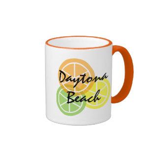 Daytona Beach FL Citrus OrangeLimeLemon Coffee Mug