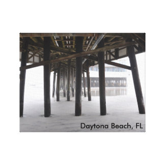 Daytona Beach, FL Gallery Wrapped Canvas