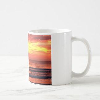 Daytona Beach, FL Sunrise Basic White Mug