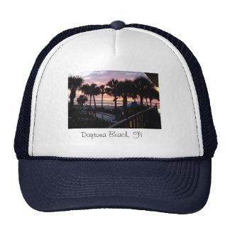 Daytona Beach, FL Sunrise Mesh Hats