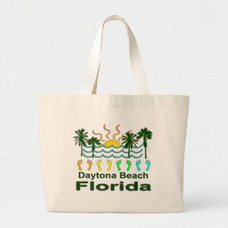 Daytona Beach Florida Jumbo Tote Bag