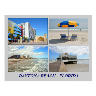 Daytona Beach Florida Postcard