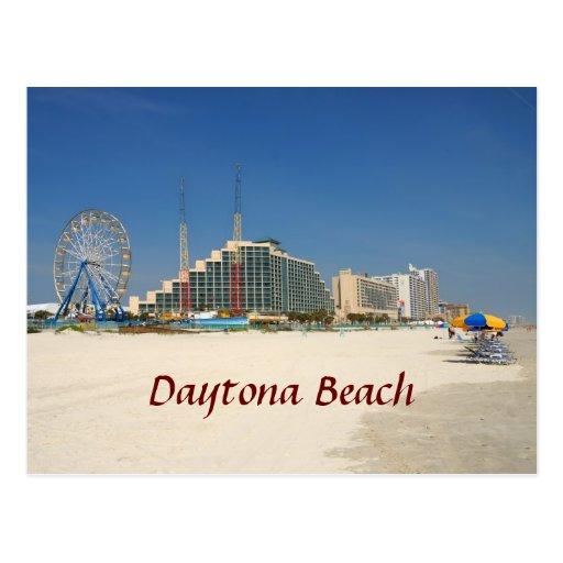 Daytona Beach Florida Post Card