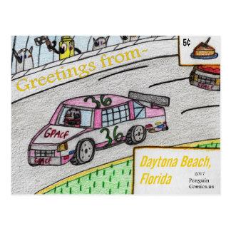 """Daytona Beach, Florida"" postcard"