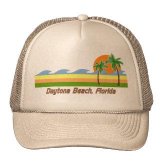 Daytona Beach Florida RETRO Tshirt Hats
