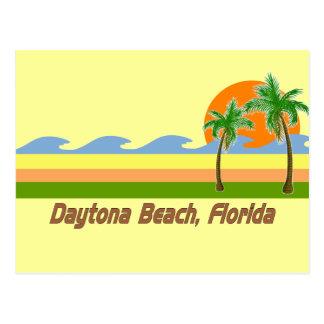 Daytona Beach Florida RETRO Tshirt Post Card
