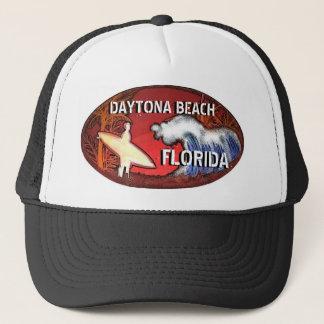 Daytona Beach Florida surfer art hat