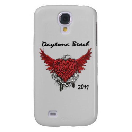 Daytona Beach Flying Red Heart 2011 Samsung Galaxy S4 Covers
