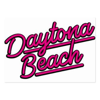 Daytona Beach in magenta Business Cards