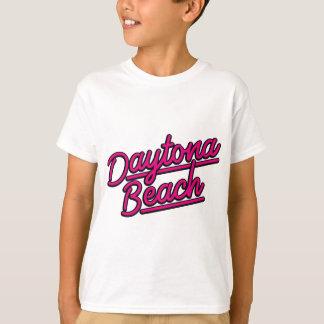 Daytona Beach in magenta T-Shirt
