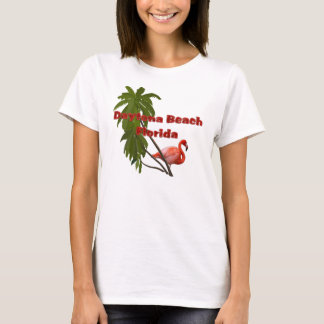 Daytona Beach Ladies Flamingo Camisole T-Shirt