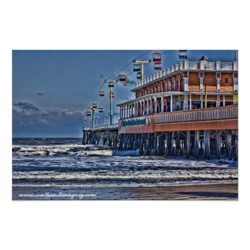 Daytona Beach Pier Poster