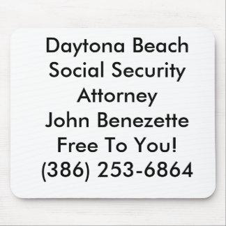 Daytona Beach Social Security Attorney Ormond Mouse Pad