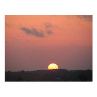 Daytona Beach Sunset Postcard
