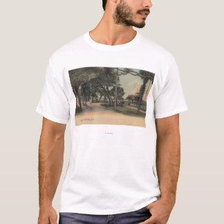 Daytona, Florida - View of Beach Street T-Shirt