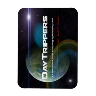 DayTrippers Flexi-Magnet for Smart People Rectangular Photo Magnet
