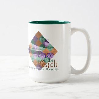 Daze on the Beach Diamond Mug
