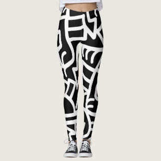 Dazed and Confused at Night leggings