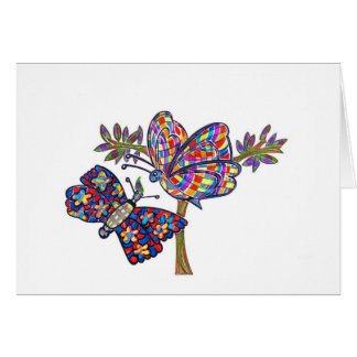 Dazzle Butterflies Card