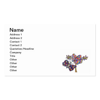 Dazzle Butterflies Pack Of Standard Business Cards