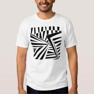 dazzle camouflage (black) tshirt