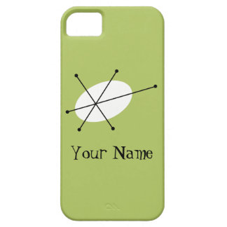 Dazzle Green 'Name' iPhone 5 case vertical