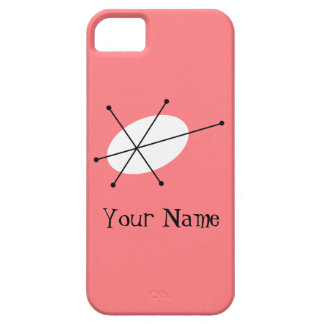 Dazzle Pink 'Name' iPhone 5 case vertical