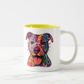 Dazzle Pitbull Mug
