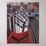 "Dazzle-ships In Drydock poster 24""x31"""