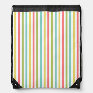 dazzle Stripe Classic drawstring bag