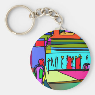 Dazzling Afternoon in San Francisco Keychains