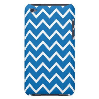 Dazzling Blue Chevron iPod Touch G4 Case