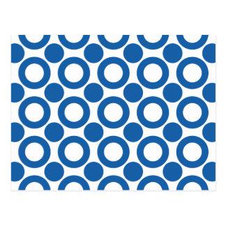 Dazzling Blue Dot 3 Postcard