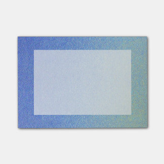 Dazzling Blue Ombre Glitter Sand Look Dark Light Post-it® Notes