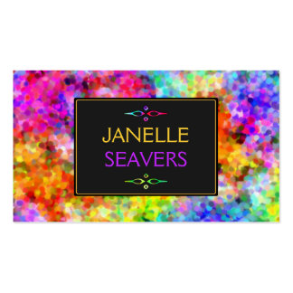 Dazzling Chakra Colors Pack Of Standard Business Cards