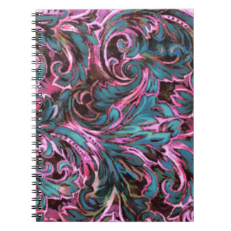 Dazzling Damask Note Books