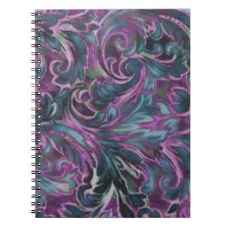 Dazzling Damask Notebooks