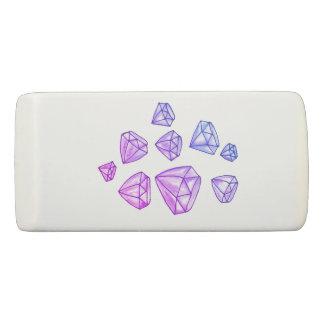 Dazzling Diamonds Wedge Eraser