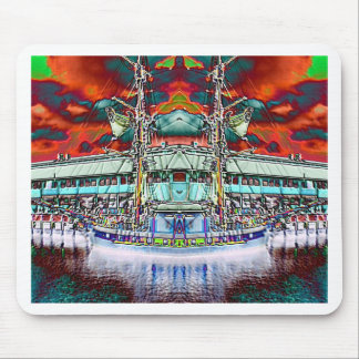 Dazzling Docks Mouse Pad
