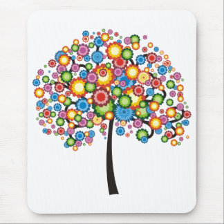 Dazzling Family Tree Mouse Pad