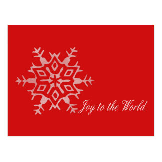 Dazzling Flakes business Christmas card Postcard