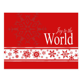 Dazzling Flakes business Christmas card Post Cards