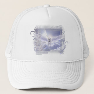 Dazzling Flying Unicorn Tag Series Trucker Hat