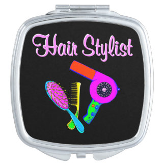 DAZZLING HAIR STYLIST TEES AND GIFTS MAKEUP MIRROR