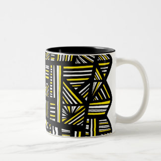 Dazzling Happy Unique Manly Two-Tone Mug