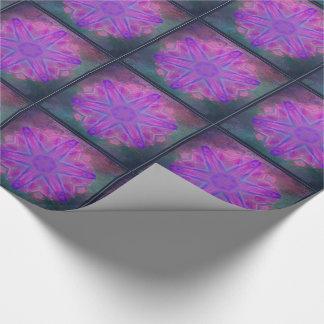 Dazzling pink kaleidoscope tiled paper