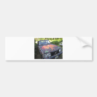 Dazzling Razzberry - Autism Awareness Car Bumper Sticker